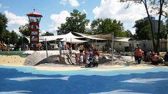Megnyílt Budapest legnagyobb vizes játszótere Kispesten