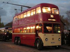 Huddersfield Trolley Bus 619, No 30 to Almondbury.