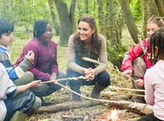 Kate Middleton very down to earth