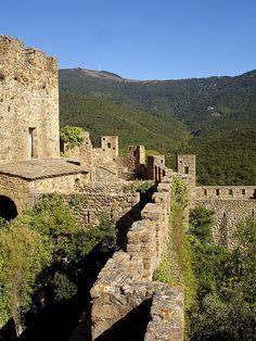 Requesens Castle - La Jonquera, Catalonia, Spain