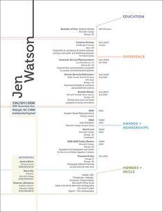 Curriculum Vitae #CV || pinterest.com/edevantie