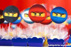 Brincando de Festa: Festa Ninjago do Rafael