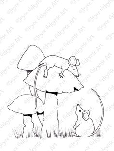 Hand Drawn Coloring Page Coloring for by ToadstoolPrintables