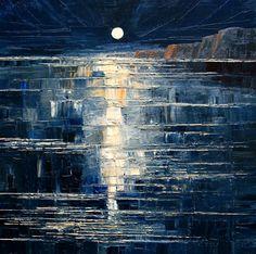 Night by StudioUndertheMoon on DeviantArt -- justyna kopania -- oil on canvas