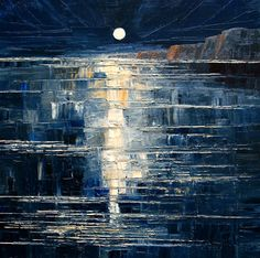 Night by StudioUndertheMoon on DeviantArt -- justyna kopania -- oil on canvas