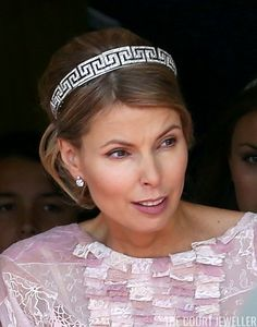 The Daily Diadem: Countess Natascha's Meander Bandeau | The Court Jeweller
