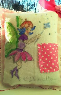 Tooth fairy Pillow Keepsake