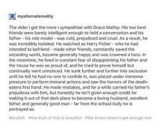 At least someone said what I feel about Draco Harry Potter Universal, Harry Potter Fandom, Harry Potter Books, Slytherin Pride, Hogwarts, Ravenclaw, Turn To Page 394, Drarry, Dramione
