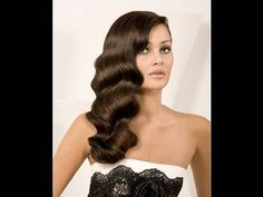 Old Hollywood----hair waves Retro Hairstyles, Party Hairstyles, Bride Hairstyles, Classic Hairstyles, Vintage Hairstyles For Long Hair, Short Hairstyles, Wave Hairstyles, Spring Hairstyles, Flapper Hairstyles