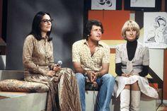 Joe Dassin avec Nana Mouskouri et Danielle Gilbert : Joe Dassin nous a quittés il y a 35 ans - Journal des Femmes