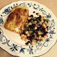 Patelon bean salad