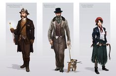 District Representatives - Characters & Art - Assassin's Creed Syndicate