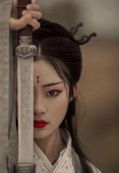 Geisha Kunst, Art Geisha, Geisha Drawing, Geisha Japan, Geisha Tattoos, Irezumi Tattoos, Warrior Girl, Hanfu, Chinese Art