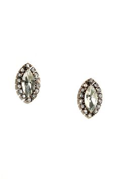 Raise your glass of bubbly because the Toast the Host Gold Rhinestone Earrings are worth celebrating