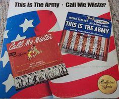 "This Is The Army / Call Me Mister / 12"" Vinyl LP Record / Broadway Cast / 1979 #MusicalOriginalCast #album"
