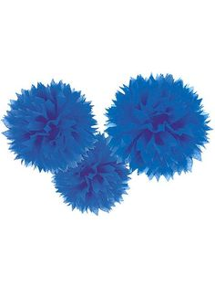 "Fluffies Decorations 16"" (3 Pack)"