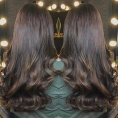 200 strands of chocolate hair heaven by the hair master @hairbychristopherlaird using our Salon Professional Range!!! #hair -#extensions #longhair