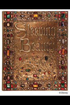 Sleeping Beauty Treasure Binding