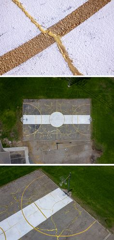 Kintsugi, Solomon, Installation Art, Basketball Court, Art