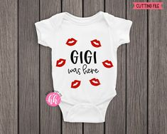 Baby Girl Quotes, Baby Svg, Making Shirts, Baby Grows, Personalized Baby, Silhouette Studio, Cricut Design, Onesies, Kids