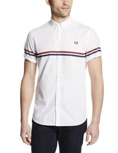 Fred Perry Men's Tipped Two Tone Shirt, White, Medium Fred Perry http://www.amazon.com/dp/B00G5NCAGS/ref=cm_sw_r_pi_dp_4vvnub1MZHQ9Y