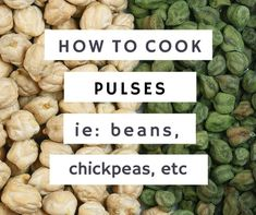 how to cook pulses