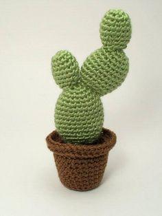 PDF Cactus Collection 2 four realistic CROCHET PATTERNS