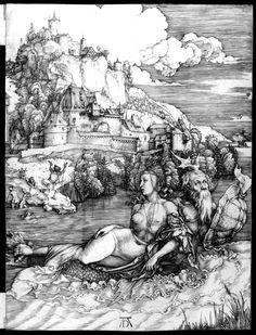 1498. The Sea Monster, by Albrecht Dürer