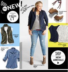 Old Navy Plus Size Women's Clothing #WhereToShop #WellRoundedFashion #PlusSizeClothing