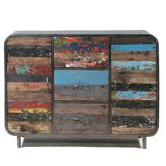 Das Holländische Möbelhaus industrial chic sideboard aus altem holz produkte möbelhaus