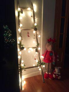 Empezamos la Navidad con esta escalera navideña