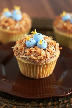 Cupcakes pollitos