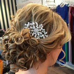 Mother of the bride hair?