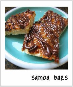 I love love love samoas. have to try these...wait they are called something else now i think...caramel something...they will always be samoas to me!