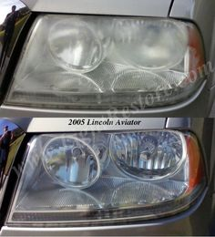 Owner was very happy! His mouth just fell open! lol in #Dunnellon Florida. Scott's Mobile Headlight Restoration Service, Citrus County Florida.