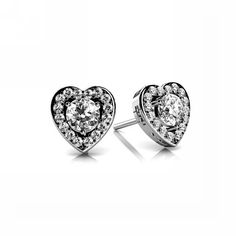 Purchase Round Cut Natural Diamond Heart Studs Earrings In White Gold Carat ,F-G VS) from JewelryHub on OpenSky. Share and compare all Jewelry. Heart Shaped Earrings, Heart Shaped Diamond, Rose Gold Earrings, Diamond Earrings, Stud Earrings, Round Cut Diamond, Round Diamonds, Diamond Color Scale, Platinum Metal