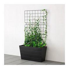 IKEA - BARSÖ, Klimplantrek, Met het klimplantenrek zijn de buitenmuren makkelijk te versieren met klimplanten, terwijl de planten de juiste steun krijgen om omhoog te groeien.Je kan het klimplantenrek horizontaal en verticaal monteren, zodat het in je tuin of op je balkon past.