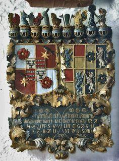 Wappen in the Market Church in Lippe