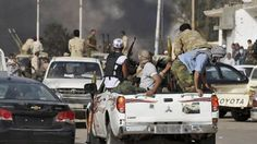 Tribal clashes still continue in Libya, particularly in western and southern parts of the county. (file photo)