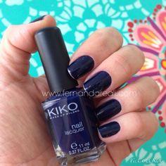 Esmalte Kiko cor 523 nails, nailpolish, vernis, ongles, nagellack