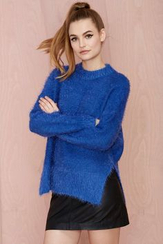 Nasty Gal Shag Appeal Sweater | Shop Clothes at Nasty Gal