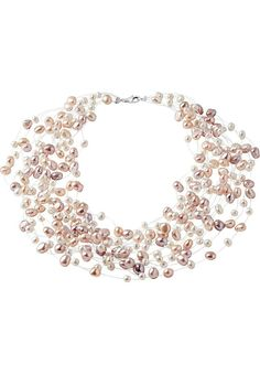 CHRIST Pearls - Halskette - creme