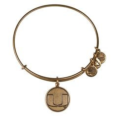 University of Miami® Logo Charm Bangle