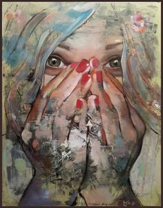 "Mihail -Miho- Korubin ; Oil, 2012, Painting ""Bliss"""