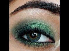 Grüne Augen schminken - Farbpalette & trendige Kombination