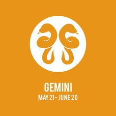 Gemini ZODIAC Print // Choose Your Color by JSGD on Etsy, $18.00