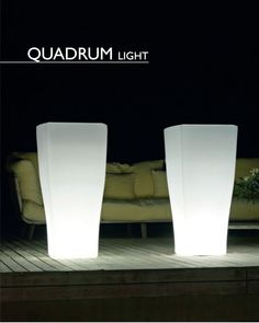 Quadram Light Designer Planters