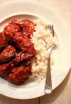 Resep Fire Chicken Wings a la Richeese | Just Try & Taste