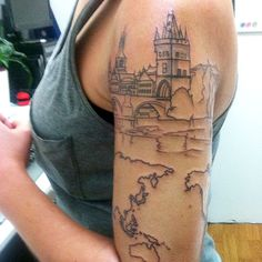 38 MORE Travel related Tattoos from Backpackers, Globetrotters, & Bloggers | Camera & Carry On