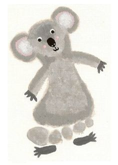bear preschool craft -Koala #preschool #crafts #preschoolcrafts